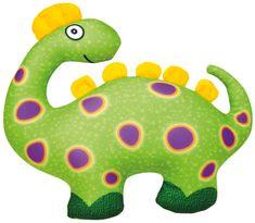Bino Dinosaurus zelený 33x28cm