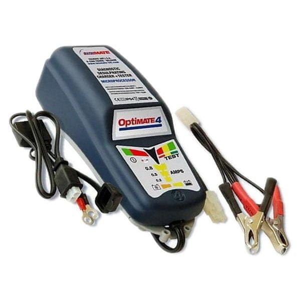 OptiMate 4 - DUAL automatická nabíječka 12V/0,8A