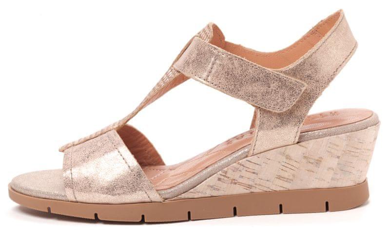 Hispanitas dámské sandály 41 zlatá