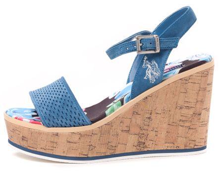 U.S. Polo Assn. ženski sandali Ruby 37 modra