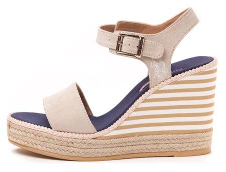 U.S. Polo Assn. ženski sandali Nymphea 38 bež
