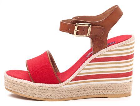 U.S. POLO ASSN. dámske sandály Nymphea 40 červená
