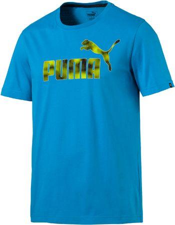 Puma Hero Tee Blue Danube Férfi póló, Kék, XXL