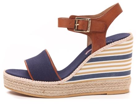 U.S. POLO ASSN. dámske sandály Nymphea 36 modrá