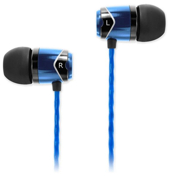 SoundMAGIC E10, černá/modrá