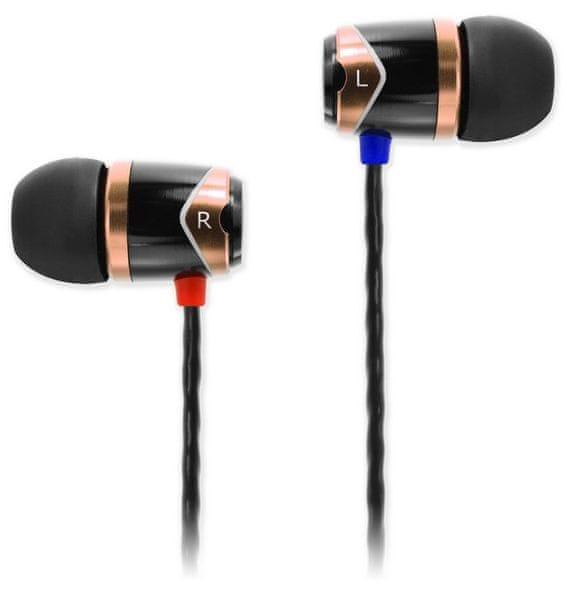 SoundMAGIC E10, černá/zlatá