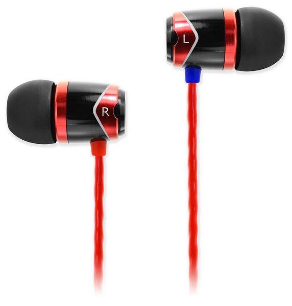 SoundMAGIC E10, černá/červená