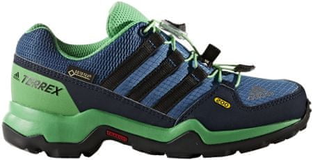 Adidas Buty Terrex Gtx K Core Blue /Core Black Green 35.5