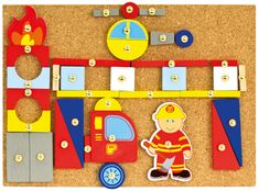 Bino Hra s kladívkem hasiči
