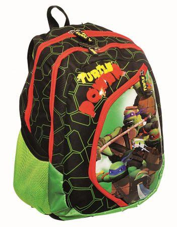GIM Školský batoh oválny Korytnačka Ninja