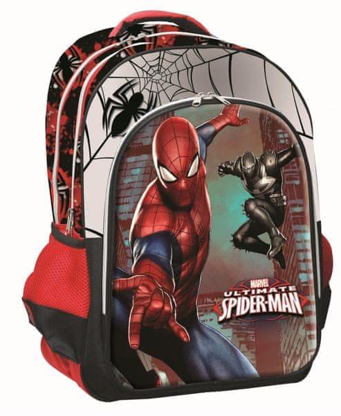 GIM Školní batoh oválný Spiderman