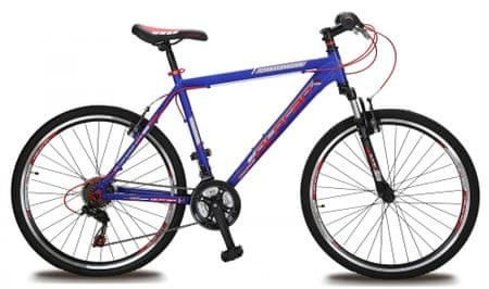 """Olpran Challenger 26"""" Kerékpár, Kék/Piros, 16"""""""