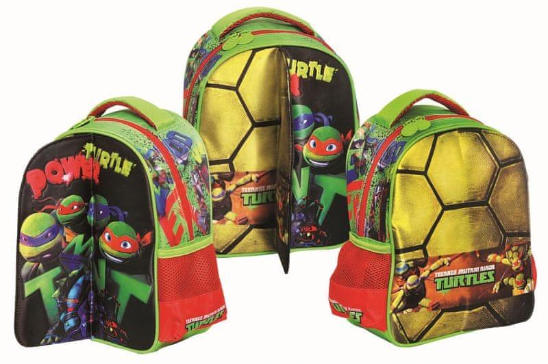 GIM Baťůžek JUNIOR oválný Želvy Ninja
