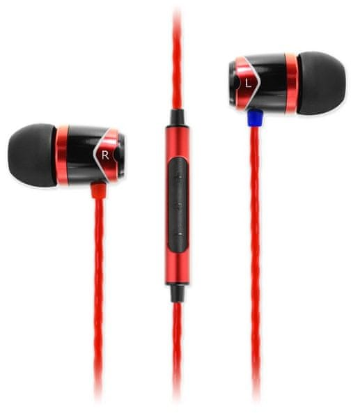 SoundMAGIC E10C, černá/červená