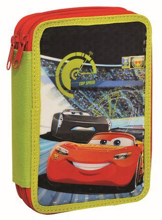 GIM Školní dvoupatrový penál Cars 3 Movie – plněný