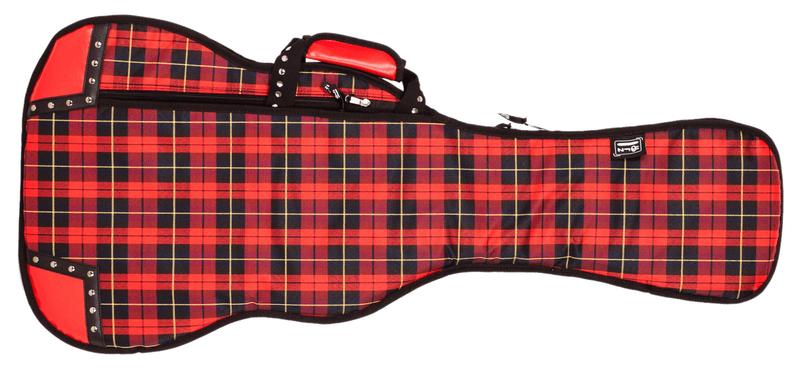 Lorz Skinny Electric Tartan Obal pro elektrickou kytaru
