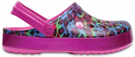 Crocs ženski čevlji Crocband Animal II, roza, 39 - 40