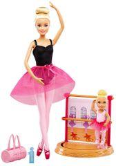 Mattel Barbie Trenerka Baletu