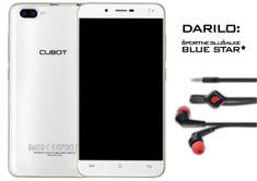 Cubot GSM telefon Rainbow 2, bel + športne slušalke