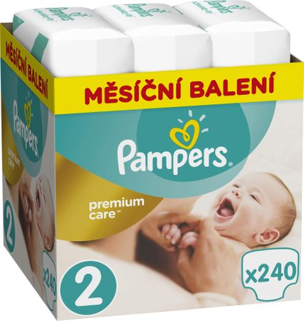 Pampers Plienky Premium Care 2 (Mini) - 240 ks