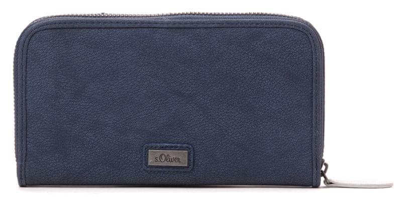 s.Oliver dámská modrá peněženka