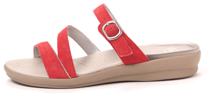 Scholl dámské pantofle Elinor 41 červená