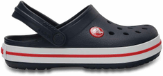 Crocs Buty Crocband Clog K Navy Red