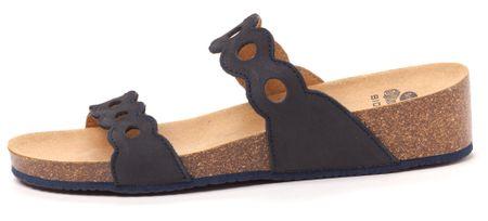 Scholl dámské pantofle Odelia 37 tmavě modrá