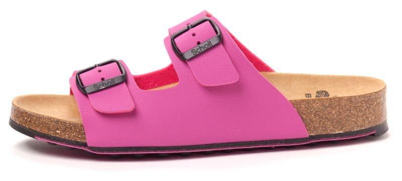 Scholl dámské pantofle Spikey 38 fialová