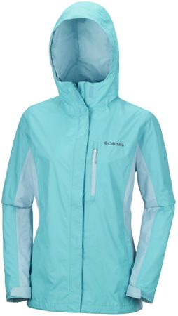 Columbia ženska jakna Pouring Adventure II, modra, XS