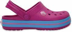 Crocs otroški čevlji Crocband Clog, vijolični
