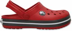 Crocs otroški čevlji Crocband Clog, rdeči