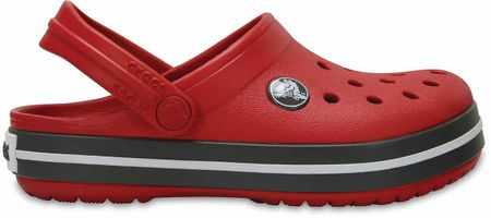 Crocs otroški čevlji Crocband Clog, rdeči, 33 - 34