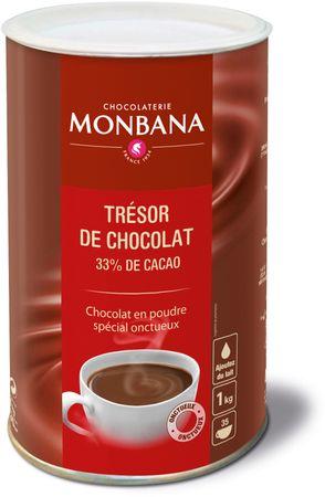 Monbana horúca čokoláda Tresor 1 kg