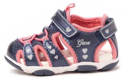 Geox dekliški sandali Agasim 25 modra