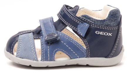 Geox fantovski sandali Kaytan 19 modra