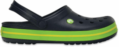 Crocs unisex čevlji Crocband, modri/zeleni