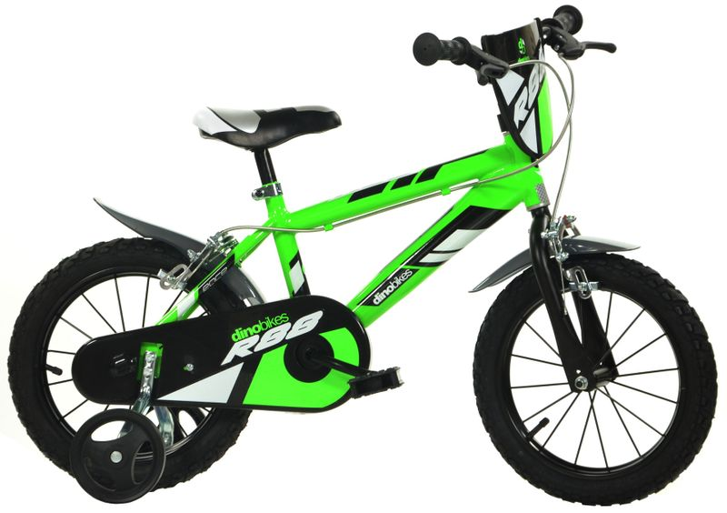 "Dino bikes 16"" zelená"