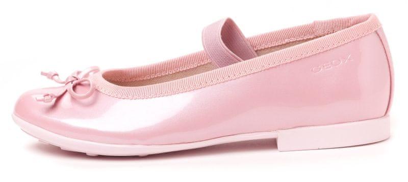 Geox dívčí baleríny Plie 28 růžová