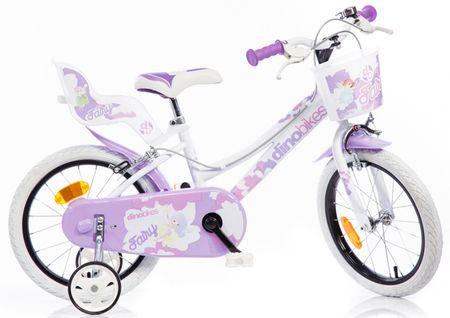 "Dino bikes Rower dziecięcy 16"" Purple"