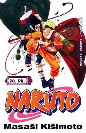 Kišimoto Masaši: Naruto 20 - Naruto versus Sasuke