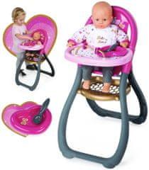 Smoby Baby Nurse Jedálenská stolička pre bábiku