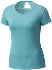 Columbia ženska majica Peak to Point Novelty, modra