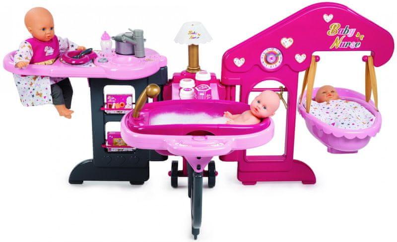 Smoby Baby Nurse Baby's home
