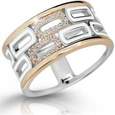 Modesi Exkluzívne strieborný prsteň M11074