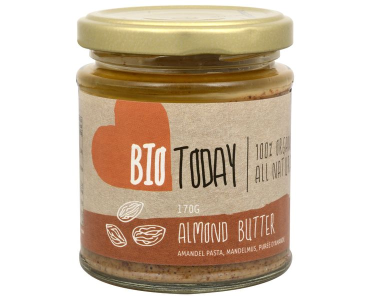 BIO Mandlové máslo original 170 g