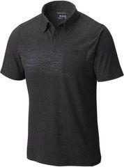 Columbia moška majica Trail Shaker Polo, črna