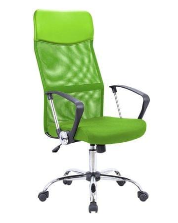 Pisarniški stol Rino, zelen
