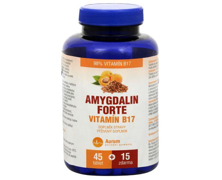 Pharma Activ Amygdalin FORTE vit. B17 45 tbl. + 15 tbl. ZDARMA