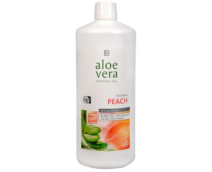 LR Health & Beauty Aloe Vera Drinking gel s příchutí broskví (Objem 6 x 1 l)